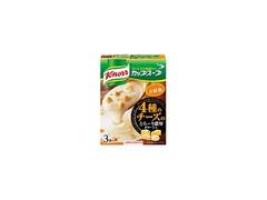 クノール カップスープ 4種のチーズのとろ~り濃厚ポタージュ 箱3袋
