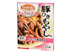 味の素 クックドゥ 今日の大皿 豚ひきもやし用 とんこつ醤油炒め 箱90g