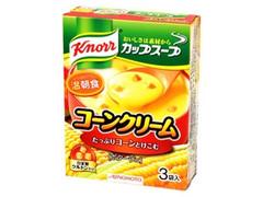 クノール カップスープ コーンクリーム 3袋入 箱52.8g