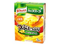 クノール カップスープ つぶたっぷりコーンクリーム 3袋入 箱49.5g