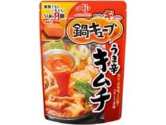 味の素 鍋キューブ うま辛キムチ 袋76g