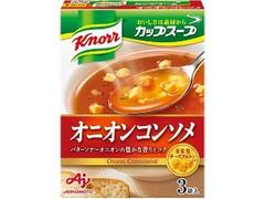 クノール カップスープ オニオンコンソメ 箱3袋