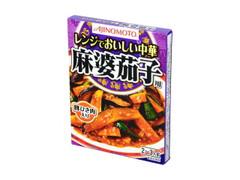 味の素 レンジでおいしい中華 麻婆茄子用 箱110g