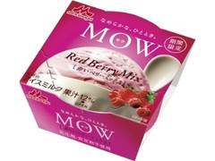 森永 MOW 赤いベリーミックス カップ140ml