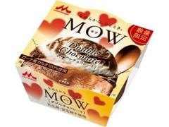 森永 MOW ダブルチョコレート カップ140ml