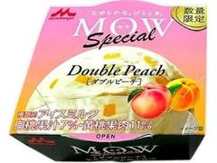 森永 MOW スペシャル ダブルピーチ カップ140ml