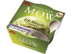 森永 MOW 宇治抹茶 カップ140ml