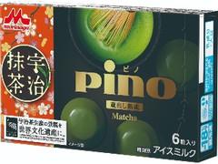 森永 ピノ 蔵出し熟成 宇治抹茶 箱10ml×6