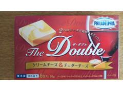 クラフト フィラデルフィア The Double クリームチーズ&チェダーチーズ
