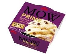 森永 MOW PRIME ゴールドラムレーズン 発酵バターの香り