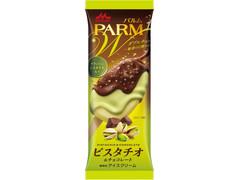 森永 PARM ダブルチョコ ピスタチオ&チョコレート