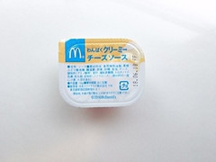マクドナルド わんぱくクリーミーチーズソース