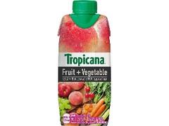 トロピカーナ フルーツ+ベジタブル 甘熟ピーチブレンド パック330ml