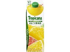 トロピカーナ 100% まるごと果実感 グレープフルーツ パック900ml