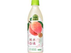 小岩井 純水白桃 ペット430ml