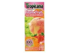 トロピカーナ フルーツ×フルーツ フルーツブレンド パック250ml