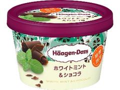 ハーゲンダッツ ミニカップ ホワイトミント&ショコラ カップ110ml