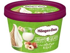ハーゲンダッツ CREAMY GELATO ヘーゼルナッツ&ミルク