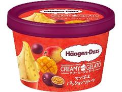 ハーゲンダッツ CREAMY GELATO マンゴー&パッションフルーツ