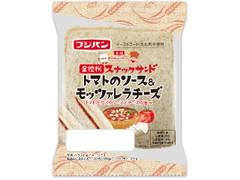 フジパン スナックサンド トマトのソース&モッツァレラチーズ 袋2個