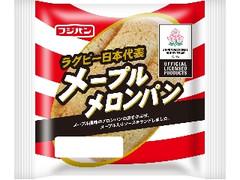 フジパン ラグビー日本代表 メープルメロンパン 袋1個