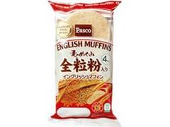 Pasco 麦のめぐみ 全粒粉入りイングリッシュマフィン 袋4個