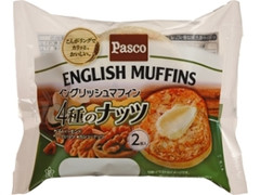 Pasco イングリッシュマフィン 4種のナッツ 袋2個