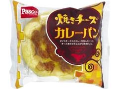 Pasco 焼きチーズカレーパン 袋1個