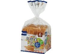 Pasco 低糖質ブラン 食パン 袋6枚