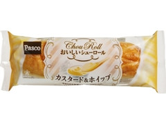Pasco おいしいシューロール カスタード&ホイップ 袋1個