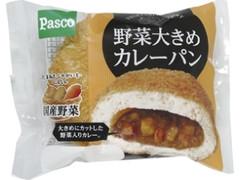 Pasco 野菜大きめカレーパン 袋1個