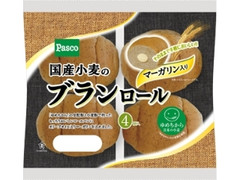 Pasco 国産小麦のブランロール マーガリン入り 袋4個