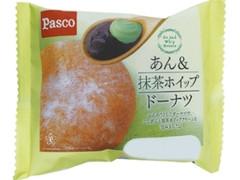 Pasco あん&抹茶ホイップドーナツ 袋1個