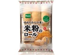 Pasco ゆめちから小麦と米粉のロール 袋6個