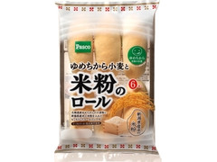 Pasco ゆめちから小麦と米粉のロール