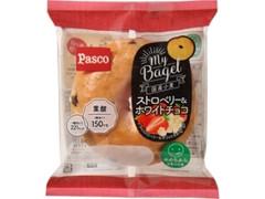 Pasco MyBagel ストロベリー&ホワイトチョコ 袋1個