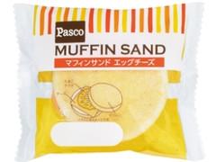 Pasco マフィンサンド エッグチーズ 袋1個