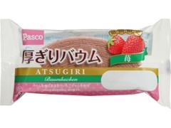Pasco 厚ぎりバウム 苺 袋1個