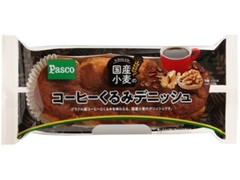 Pasco 国産小麦のコーヒーくるみデニッシュ 袋1個