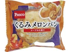 Pasco くるみメロンパン メープルの香り 袋1個