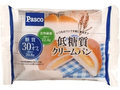 Pasco 低糖質クリームパン 袋1個