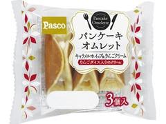 Pasco パンケーキオムレット キャラメルホイップ&りんごクリーム