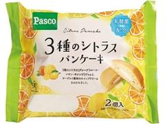 Pasco 3種のシトラスパンケーキ