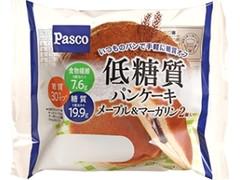 Pasco 低糖質パンケーキ メープル&マーガリン