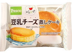 Pasco &Green 豆乳チーズ蒸しケーキ