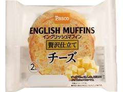 Pasco イングリッシュマフィン贅沢仕立て チーズ