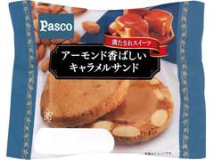 Pasco アーモンド香ばしいキャラメルサンド