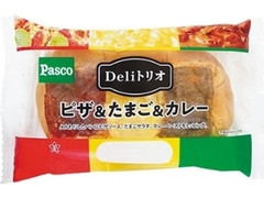 Pasco Deliトリオ ピザ&たまご&カレー