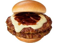 モスバーガー とびきりハンバーグサンド ダブルとびきりチーズ 北海道産ゴーダチーズ使用