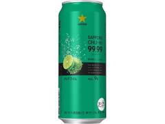 サッポロ チューハイ 99.99 クリアライム 缶500ml